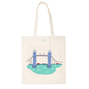 Original Cotton Bag -Tower Bridge - The Notting Hill Shopping Bag