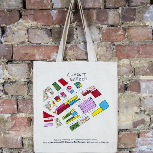 Covent Garden Map - the-notting-hill-shopping-bag