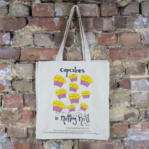 Cup Cakes - The Notting Hill Shopping Bag