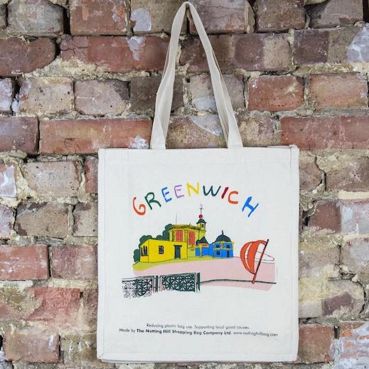 Greenwich | Notting Hill Shopping Bag - The Notting Hill Shopping Bag