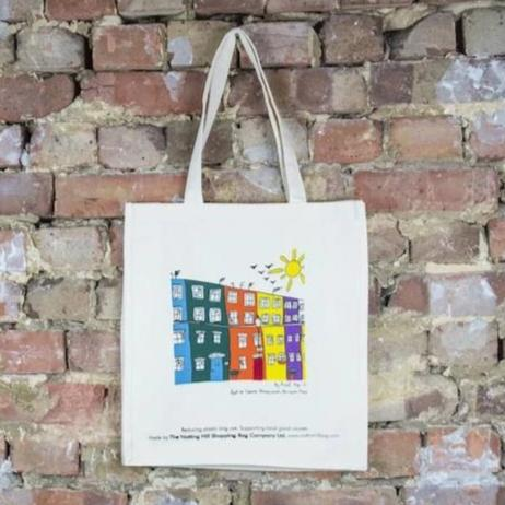 Houses | Notting Hill Shopping Bag - The Notting Hill Shopping Bag