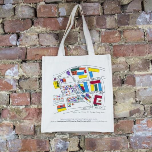 Nottinghill Map | Notting Hill Shopping Bag - The Notting Hill Shopping Bag