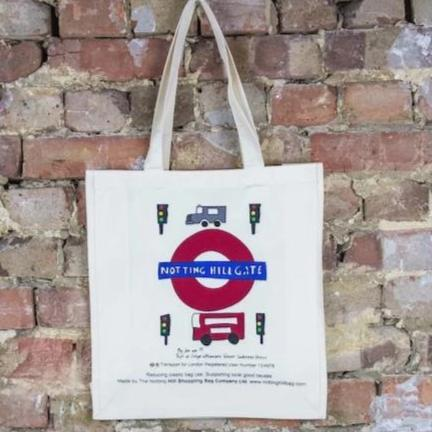 Notting Hill Tube - The Notting Hill Shopping Bag