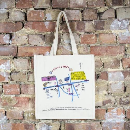 Oxford Street | Notting Hill Shopping Bag - Notting Hill Shopping Bag
