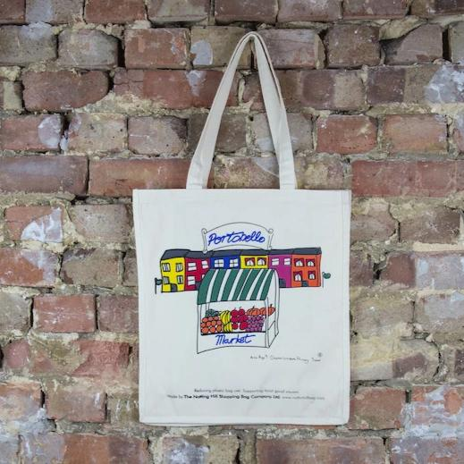 Portobello Market | Notting Hill Shopping Bag - The Notting Hill Shopping Bag