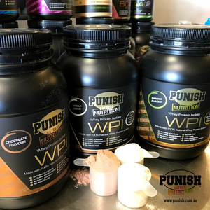 Punish Nutrition WPI 1kg varieties
