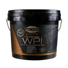 Load image into Gallery viewer, Punish Nutrition Whey Protein Isolate (WPI) 3kg Chocolate