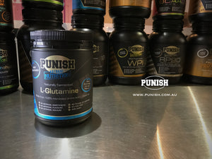 Punish Nutrition L-Glutamine 500g