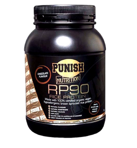 Punish Nutrition Rice Protein - Vegan - RP90