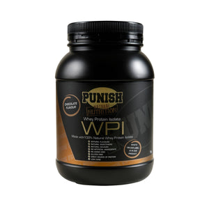 Punish Nutrition Whey Protein Isolate (WPI)