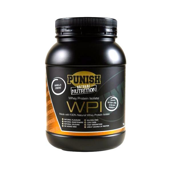 Punish Nutrition Whey Protein Isolate (WPI) Vanilla