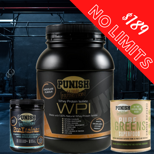 Punish Nutrition No Limits Pack