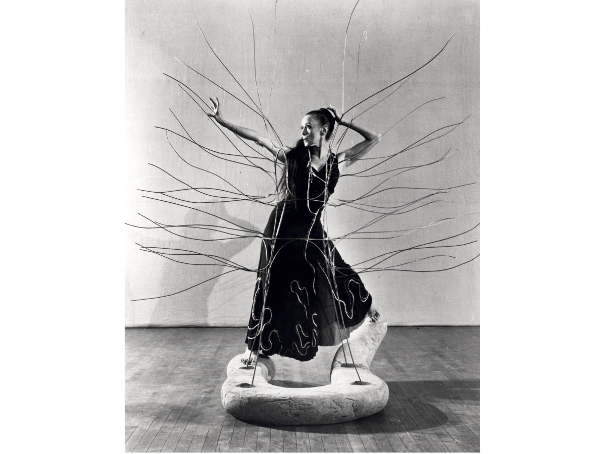 Martha Graham in Cave of the Heart, (1946), photographer unknown, 25.media.tumblr.com