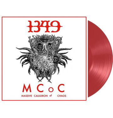 1349 - 'Massive Cauldron Of Chaos' Red LP