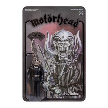 MOTÖRHEAD - 'Warpig' (Black Series) ReAction Figure