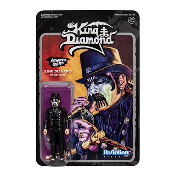 KING DIAMOND - 'King Diamond Top Hat' (Black) ReAction Figure