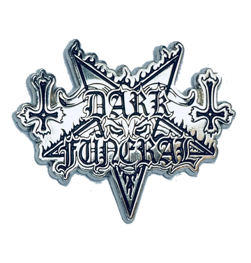 DARK FUNERAL - 'Logo' Metal Pin