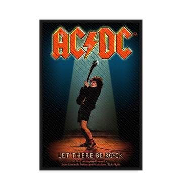AC/DC - 'Let There Be Rock' Patch