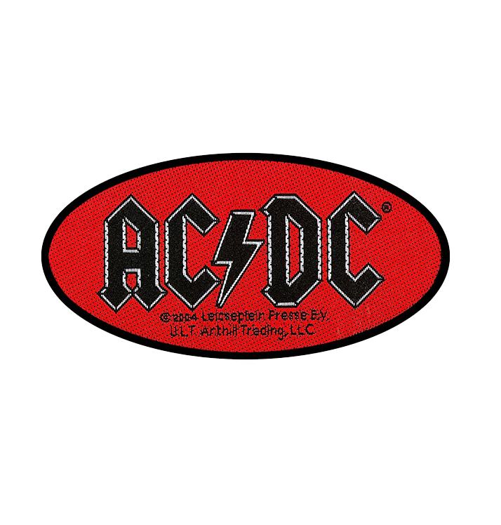 AC/DC - 'Oval Logo' Patch