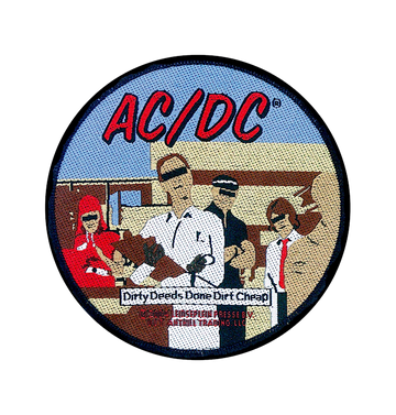 AC/DC - 'Dirty Deeds' Patch