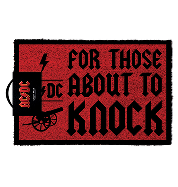 AC/DC - 'For Those About To Knock' Doormat