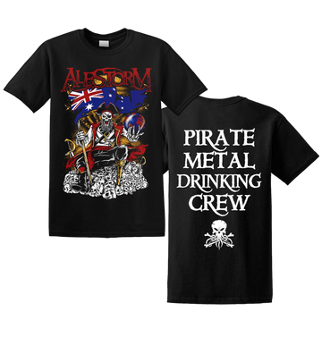 ALESTORM - 'Pirate Metal Drinking Crew' T-Shirt