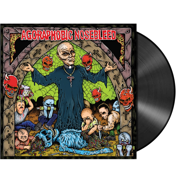 AGORAPHOBIC NOSEBLEED – 'Altered States Of America'