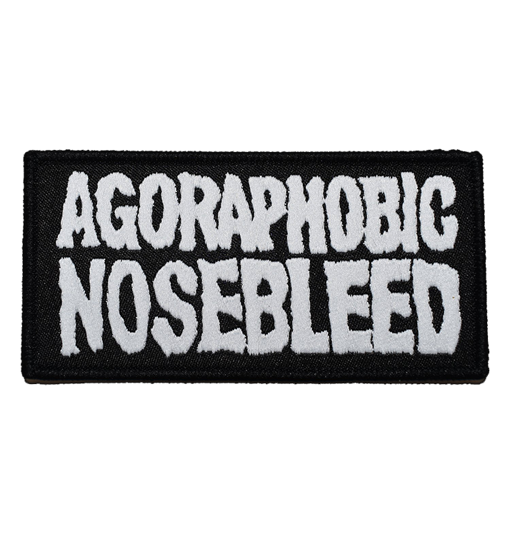 AGORAPHOBIC NOSEBLEED - 'Logo' Patch