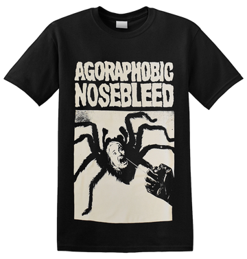 AGORAPHOBIC NOSEBLEED - 'Spider Woman' T-Shirt