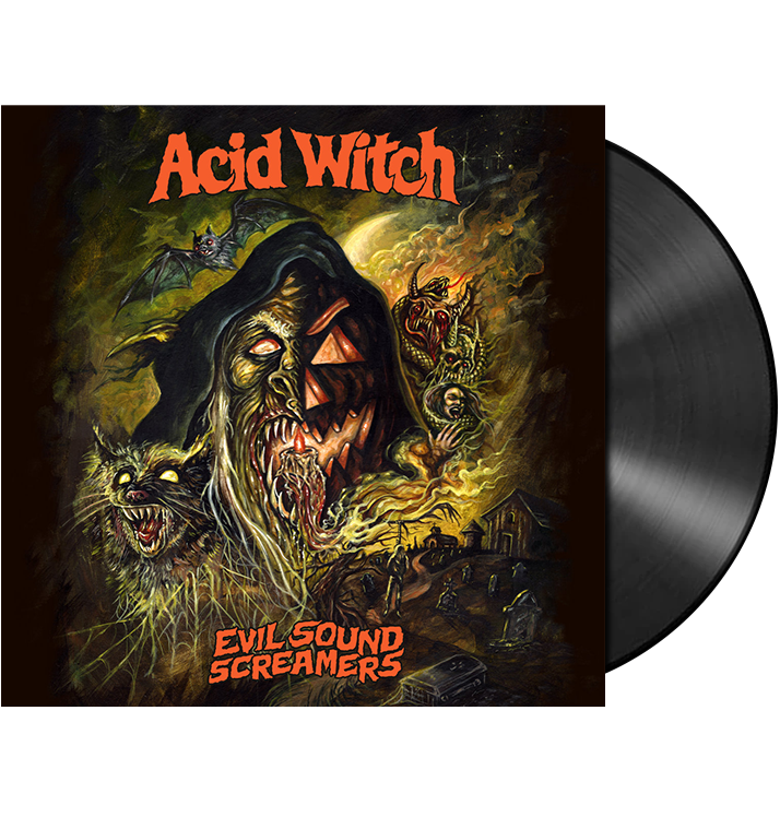 ACID WITCH - 'Evil Sound Screamers' LP