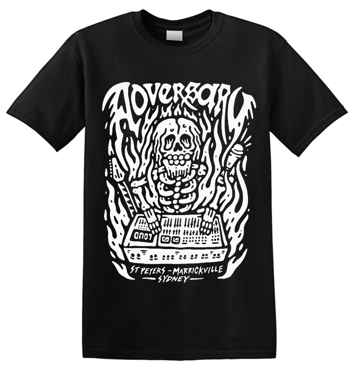 ADVERSARY STUDIOS - 'Skull' T-Shirt