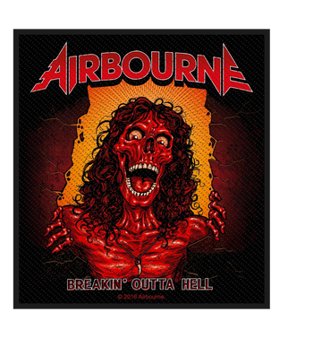 AIRBOURNE - 'Breakin' Outta Hell' Patch