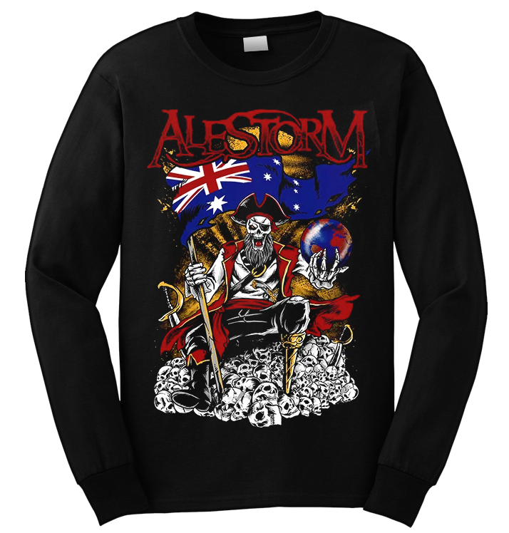 ALESTORM - 'Pirate Metal Drinking Crew' Long Sleeve
