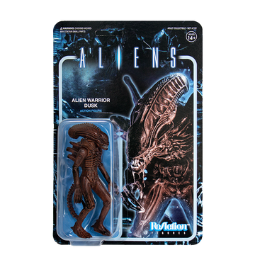 ALIENS - 'Alien Warrior B (Dusk Brown)' ReAction Figure