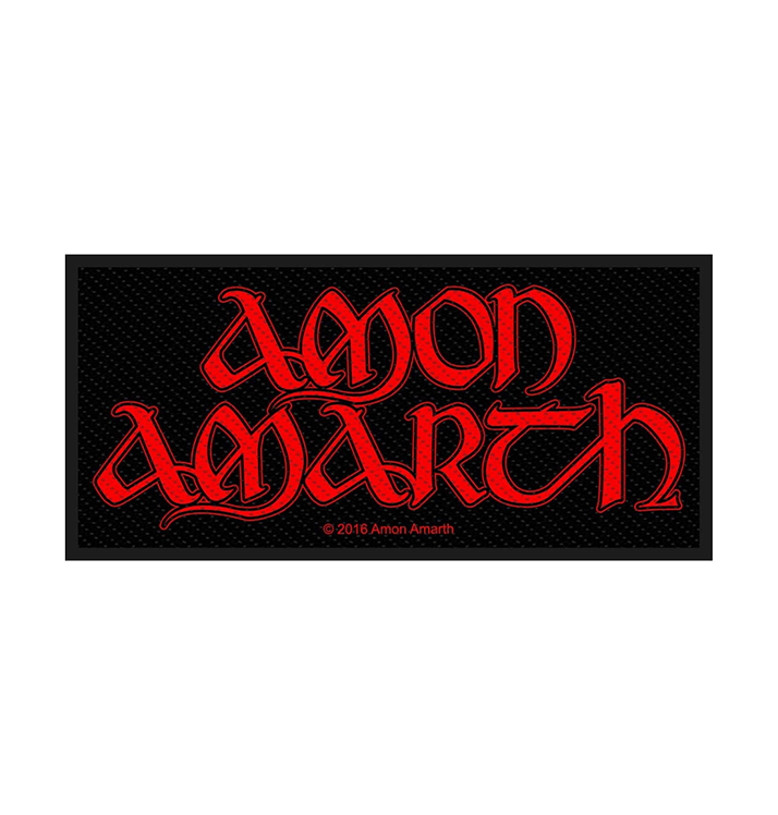 AMON AMARTH - 'Red Logo' Patch