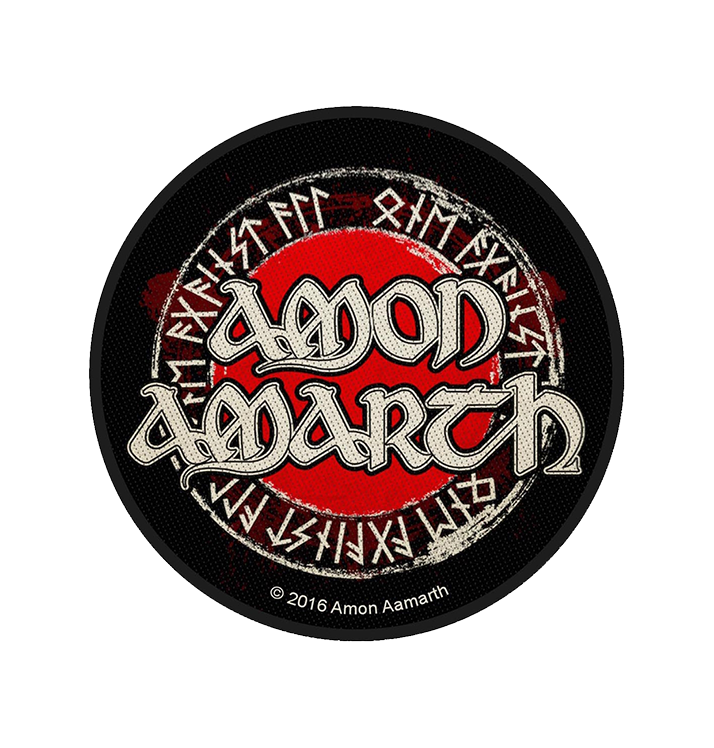 AMON AMARTH - 'Runes' Patch