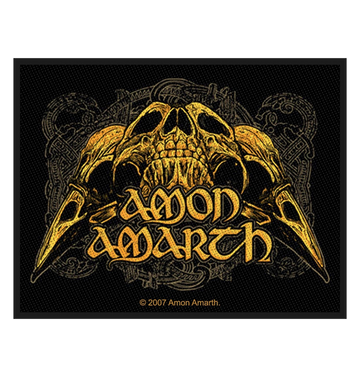 AMON AMARTH - 'Raven Skull' Patch