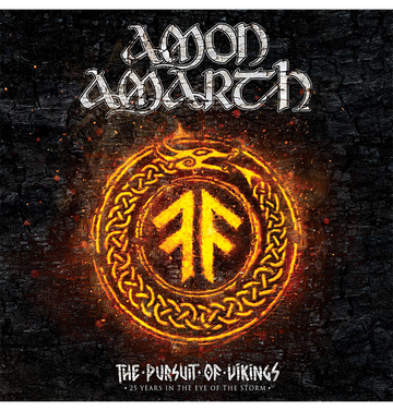 AMON AMARTH - 'The Pursuit Of Vikings: 25 Years In The Eye Of The Storm' CD / DVD