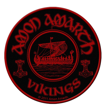 AMON AMARTH - 'Vikings Circular' Patch