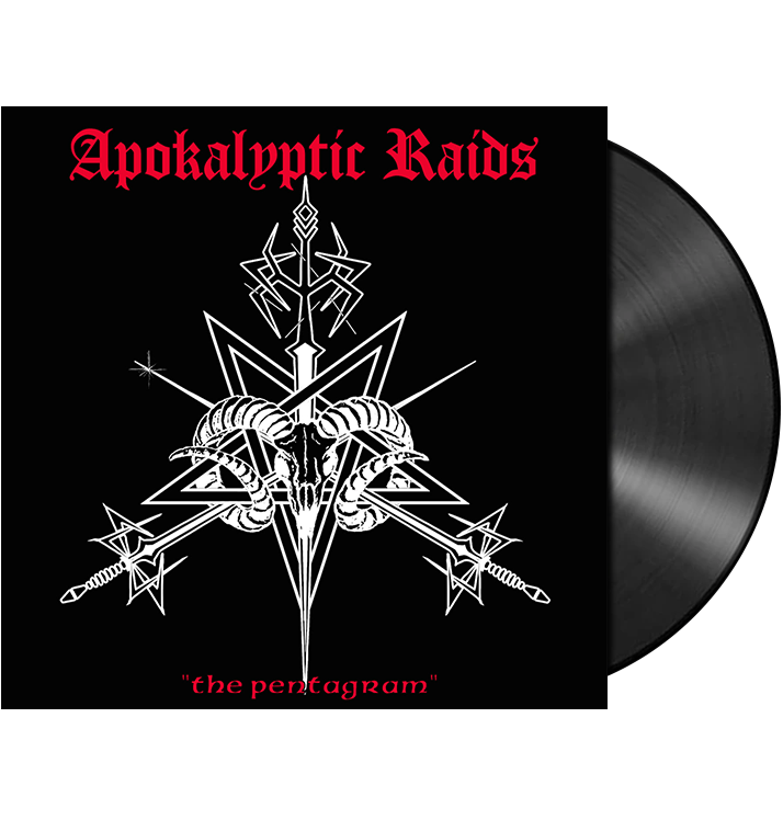 APOKALYPTIC RAIDS - 'The Pentagram' LP