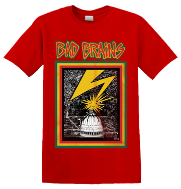 BAD BRAINS - 'Bad Brains' T-Shirt Red