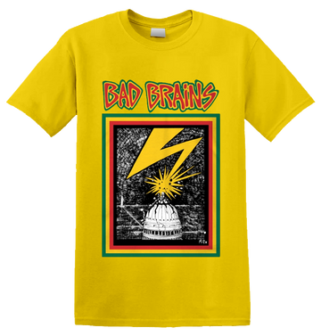 BAD BRAINS - 'Bad Brains' T-Shirt Yellow