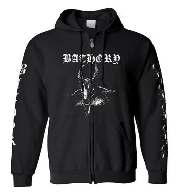 BATHORY - 'Goat' Zip-Up Hoodie