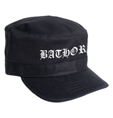 BATHORY - 'Logo' Army Cap
