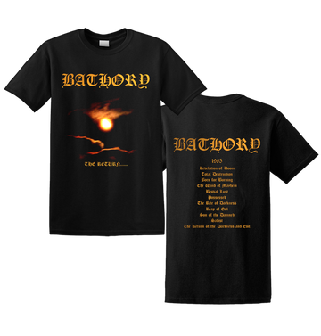 BATHORY - 'The Return' T-Shirt