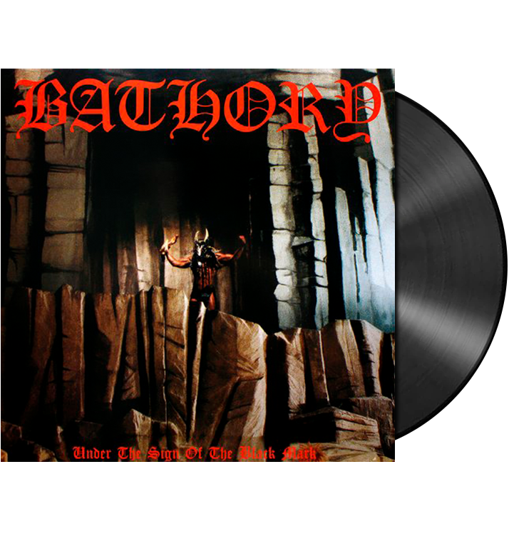 BATHORY - 'Under The Sign Of The Black Mark' LP