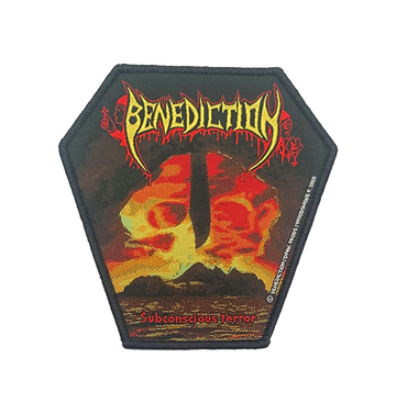 BENEDICTION - 'Subconscious Terror (Black Edging)' Patch
