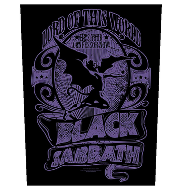 BLACK SABBATH - 'Lord Of This World' Back Patch