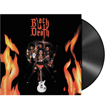 BLACK DEATH - 'Black Death' LP