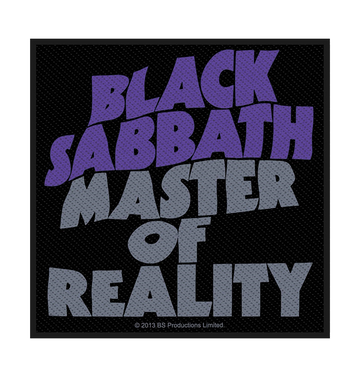 BLACK SABBATH - 'Master Of Reality' Patch